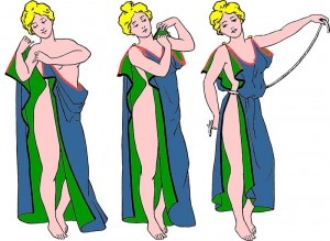 Mode in dem antiken Griechenland