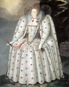 Reifrock als Basis für historische Kleider