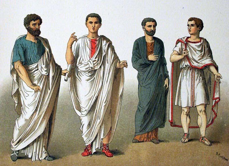 Kleidung der frauen im alten rom
